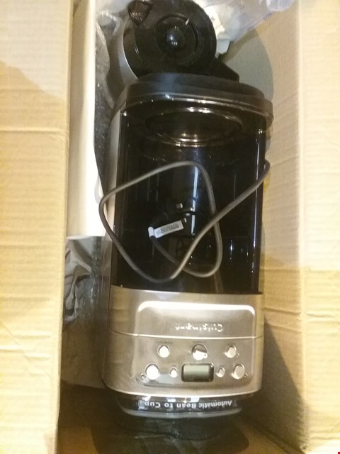 Lot 5798 CUISINART GRIND & BREW PLUS AUTOMATIC BEAN-TO-CUP MACHINE