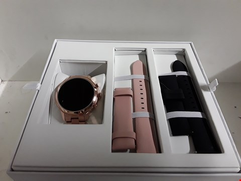 Lot 156 MICHAEL KORS SOFIE SMART WATCH ROSE GOLD  RRP £499