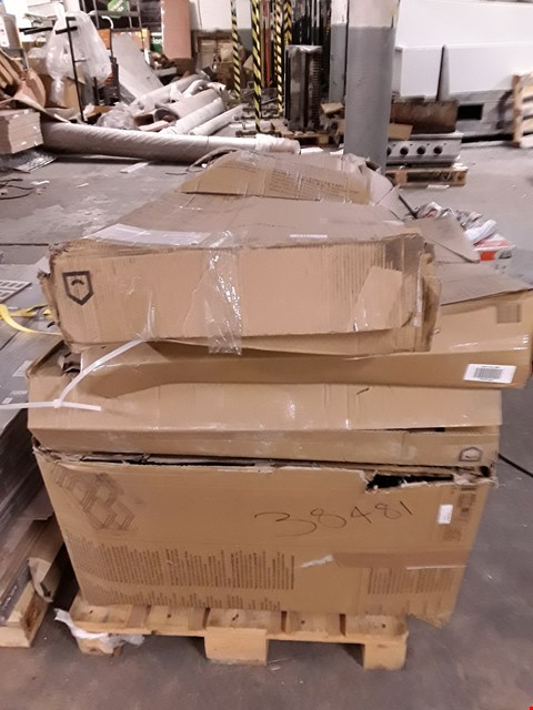 Lot 3190 PALLET OF ASSORTED FLAT PACK KITCHEN ITEMS