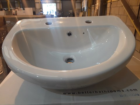 Lot 93 BRAND NEW BOXED IMPRESSIONS 2-TAP HOLE BASIN