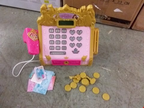 Lot 2094 DISNEY PRINCESS ROYAL BOUTIQUE CASH REGISTER RRP £35.99