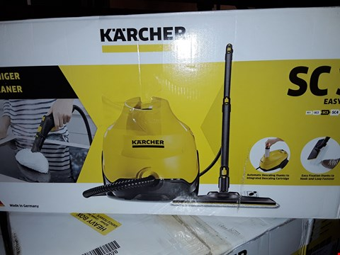 Lot 12539 KARCHER STEAM CLEANER SC3
