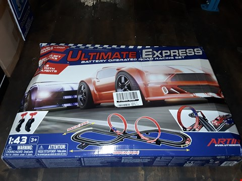 Lot 1078 ULTIMATE EXPRESS BATTERY OPERATED ROAD RACING SET RRP £50