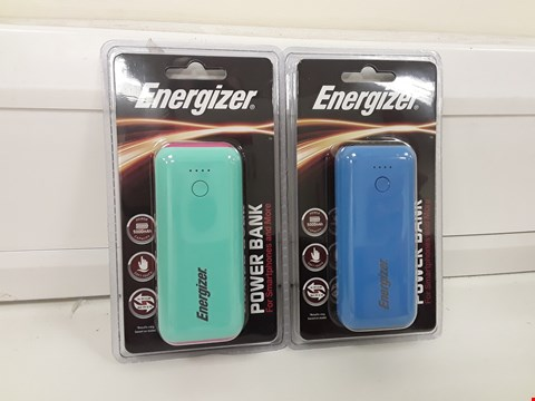 Lot 458 ENERGIZER SET OF 2 POWER BANKS