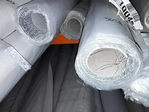 Lot 5038 LOT OF APPROXIMATELY 4 ROLLS OF CARPET TO INCLUDE IMPERIAL GREY APPROX 4X2.46M, PERFECTION VERBIER APPROX 4X2M, A ROLL OF GREY CARPET SIZE UNSPECIFIED ETC