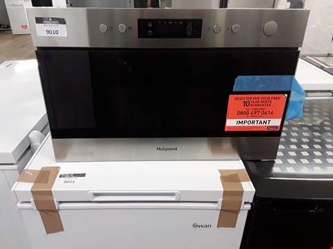 Lot 9010 HOTPOINT MN314IXH 22L BUILT-IN MICROWAVE