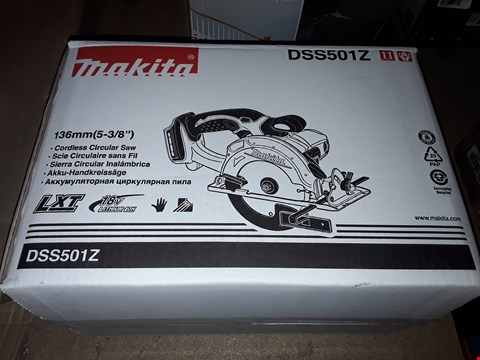 Lot 363 MAKITA 136MM CORDLESS CIRCULAR SAW