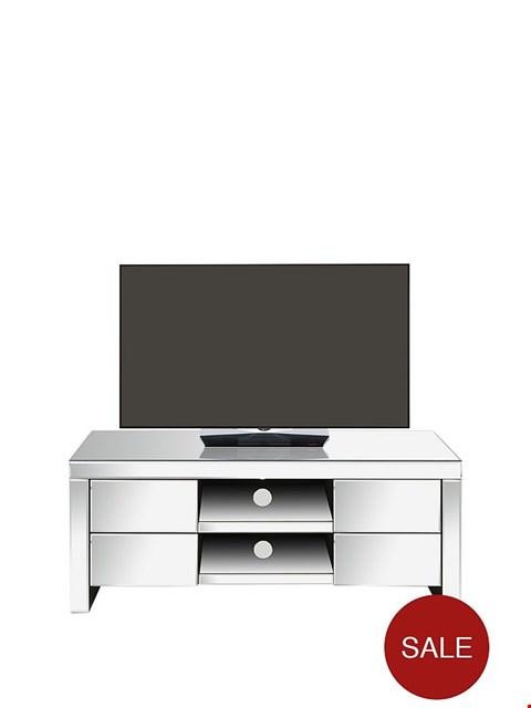 Lot 7005 GRADE 1 MONTE CARLO MIRRORED TV UNIT RRP £199.00