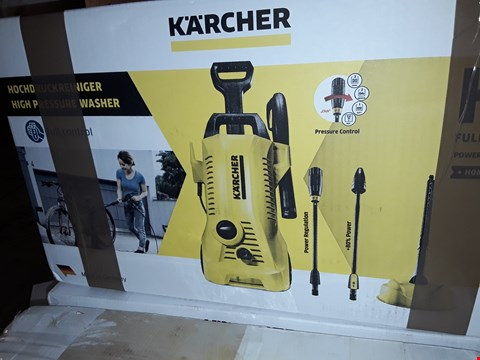 Lot 12568 KARCHER K2 FULL CONTROL PRESSURE WASHER