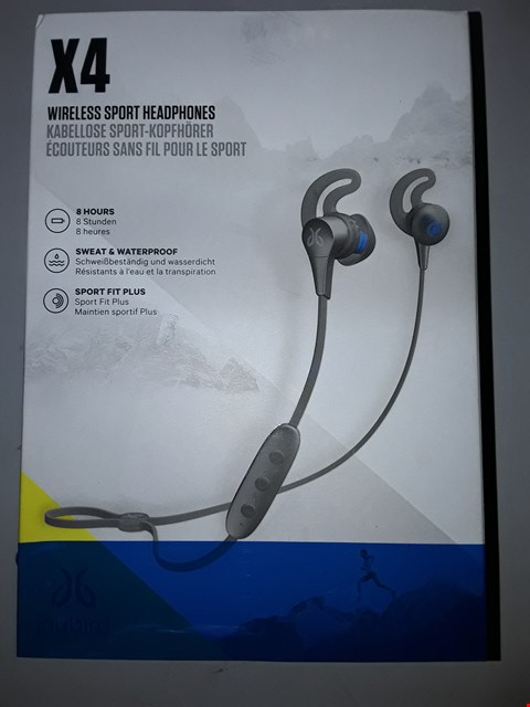 Lot 812 JAYBIRD X4 SPORT AND RUNNING, WIRELESS BLUETOOTH HEADPHONES