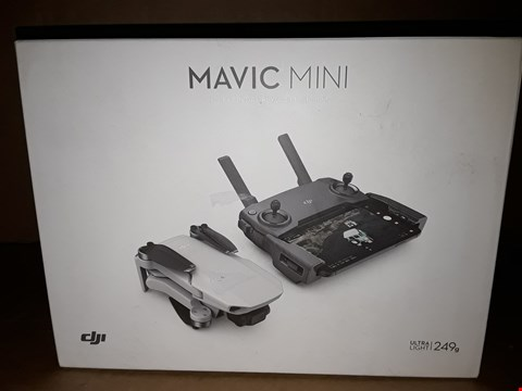 Lot 18649 DJI - MAVIC MINI ULTRALIGHT AND PORTABLE DRONE
