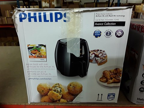 Lot 3032 PHILIPS AVANCE COLLECTION AIRFYER XL WITH RAPID AIR TECHNOLOGY