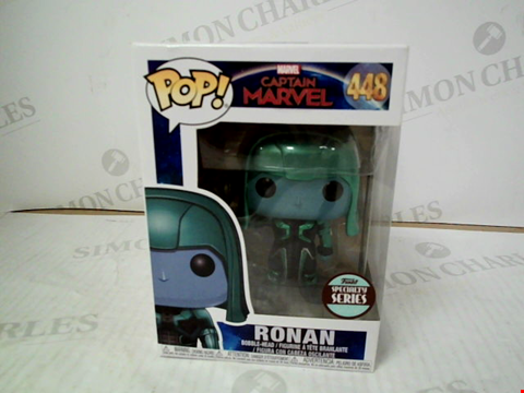 "Lot 3091 POP! CAPTAIN MARVEL ""RONAN"" BOBBLE-HEAD FIGURE"