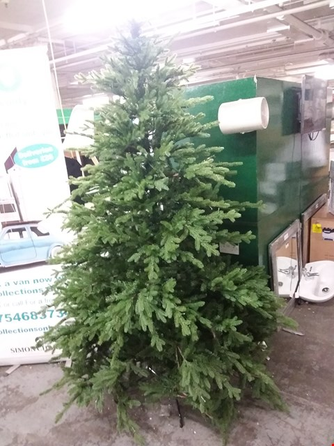 Lot 431 8FT UNBOXED ARTIFICIAL LED CHRISTMAS TREE