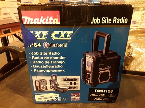 Lot 1110 MAKITA JOB SITE RADIO