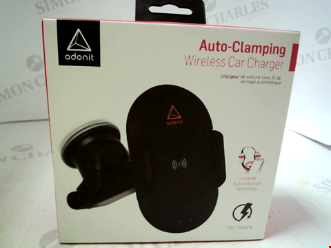 Lot 351 BRAND NEW ADONIT AUTO CLAMPING WIRELESS CAR CHARGER
