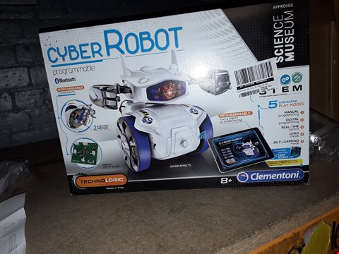 Lot 7109 SCIENCE MUSEUM CYBER ROBOT  RRP £45