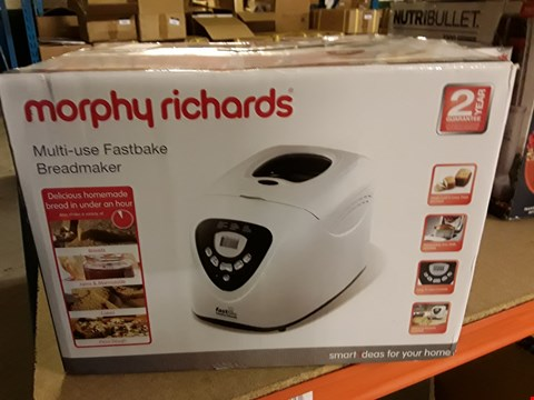 Lot 3018 MORPHY RICHARDS MULTI-USE FASTBAKE BREADMAKER