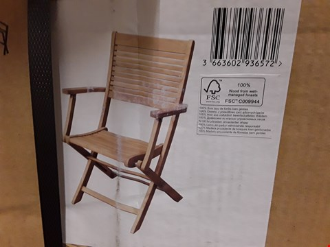 Lot 30 BOXED BLOOMA ROSCANA ARMCHAIR