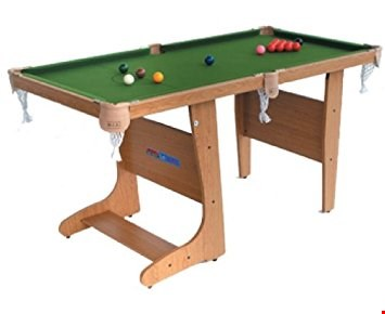 "Lot 283 BOXED 4FT 6"" FOLDING SNOOKER TABLE"