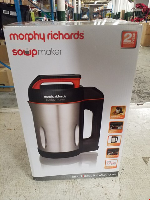 Lot 8395 MORPHY RICHARDS SOUP MAKER