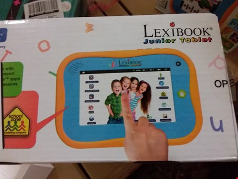 Lot 2466 LEXIBOOK JUNIOR TABLET - ENTERTAINING & LEARNING ANDROID TABLET  RRP £126.99
