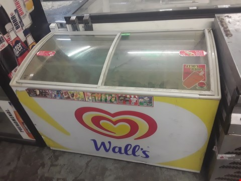 Lot 84 WALLS BRANDED CHEST DISPLAY FREEZER