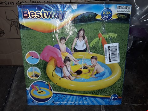 Lot 3549 GRADE 1 SUNNYLAND SPLASH PLAY POOL RRP £44.99