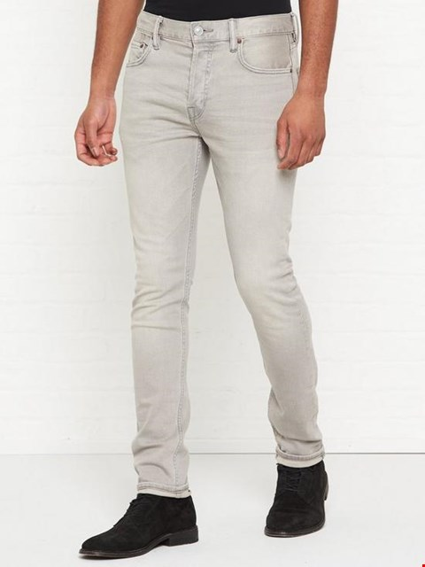 Lot 3572 BRAND NEW ALL SAINTS CIGARETTE SKINNY FIT JEANS - GREY SIZE 33