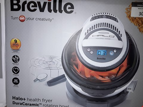 Lot 300 BREVILLE VDF122 HALO+ DURACERAMIC HEALTH FRYER RRP £159.99