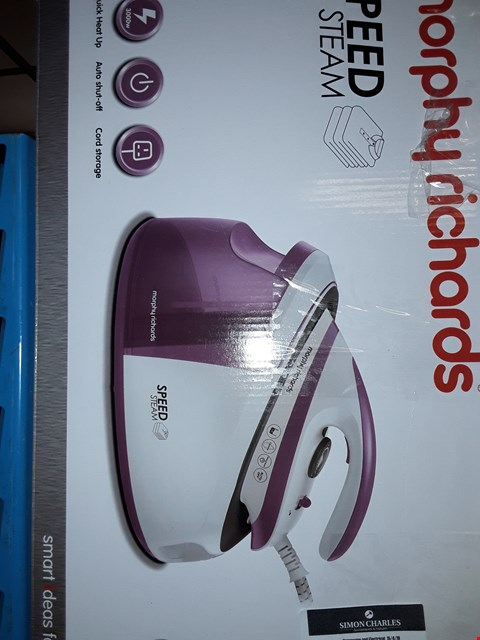 Lot 508 MORPHY RICHARDS SPEED STEAM GENERATOR IRON