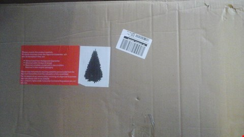 Lot 471 BOXED 7FT GREEN FIG CHRISTMAS TREE RRP £170.00