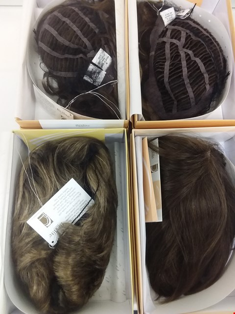 Lot 588 LOT OF 4 ASSORTED WIGS