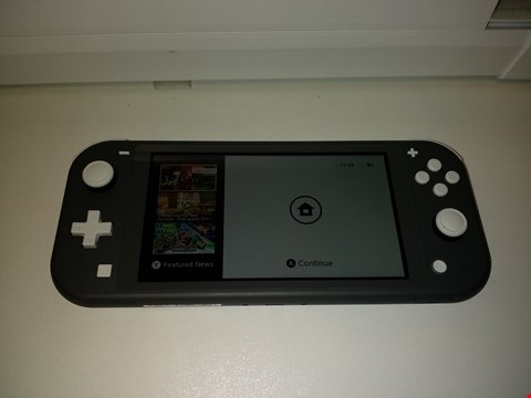 Lot 2174 UNBOXED NINTENDO SWITCH LITE CONSOLE - GREY (CONSOLE ONLY) RRP £259.99