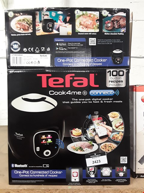 Lot 2423 TEFAL COOK 4 ME CONNECT ONE-POT CONNECTED COOKER