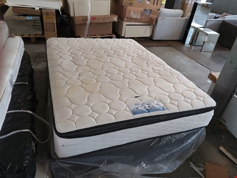 Lot 75 SEALY CLASSIC COLLECTION ZONED MEMORY PILLOWTOP 5FT MATTRESS ON A DIVAN BASE