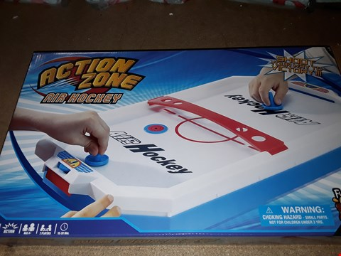 Lot 7148 BRAND NEW ACTION ZONE AIR HOCKEY  RRP £22.99