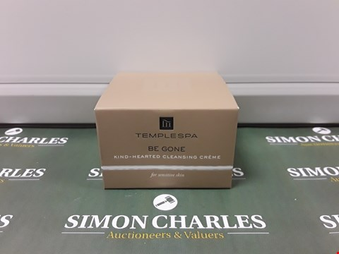 Lot 103 BOXED TEMPLESPA BE GONE CLEANSING CRÈME