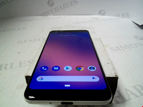 Lot 6085 GOOGLE PIXEL 3 64GB ANDROID SMARTPHONE