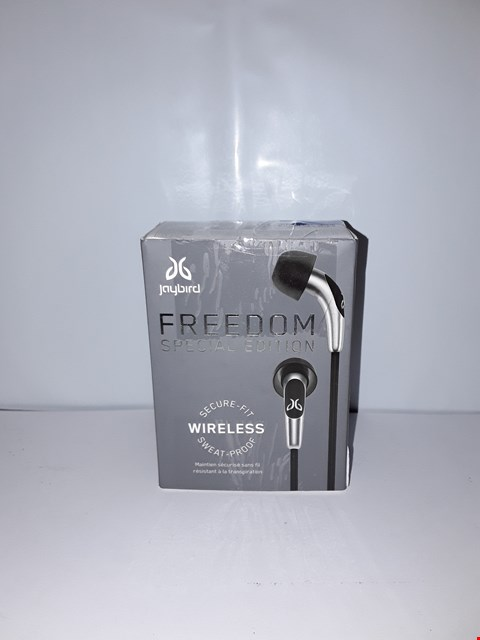 Lot 4051 JAYBIRD FREEDOM SPECIAL EDITION BLUETOOTH WIRELESS HEADPHONES