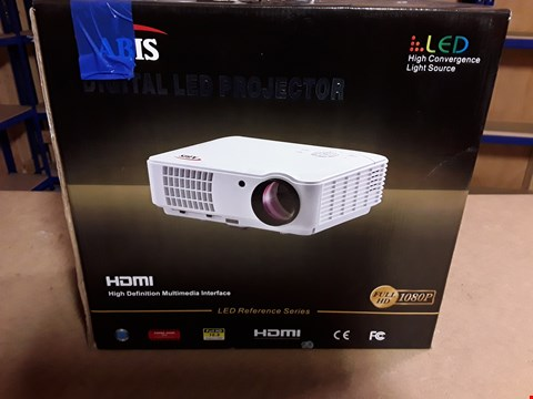 Lot 4490 BOXED ABIS DIGITAL LED PROJECTOR