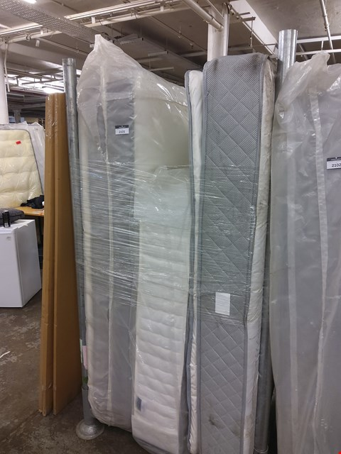 Lot 2101 THREE ASSORTED MATTRESSES: 2 BAGGED (PALLET NOT INCLUDED)
