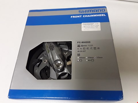 Lot 4191 BOXED SHIMANO FRONT CHAINWHEEL FC-M4000