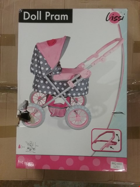 Lot 2213 BOXED GRADE 1 MY DOLL PRAM  RRP £34