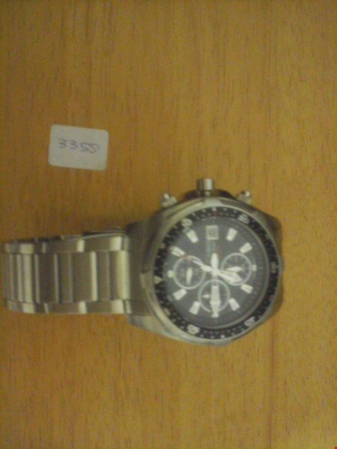 Lot 1580 CASIO STYLE WATER RESISTANT WATCH