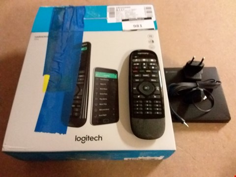 Lot 981 LOGITECH HARMONY ELITE REMOTE CONTROL, HUB AND APP