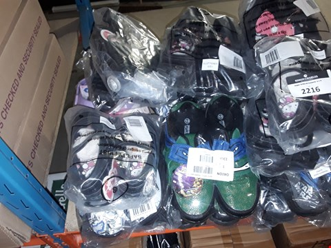 Lot 2216 A LOT OF APPROXIMATELY 20 ASSORTED BRAND NEW CHILDRENS SHOES - VARIOUS SIZES  RRP £90