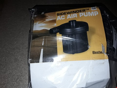 Lot 7683 GRADE 1 SIDEWINDER AC AIR PUMP  RRP £20.00