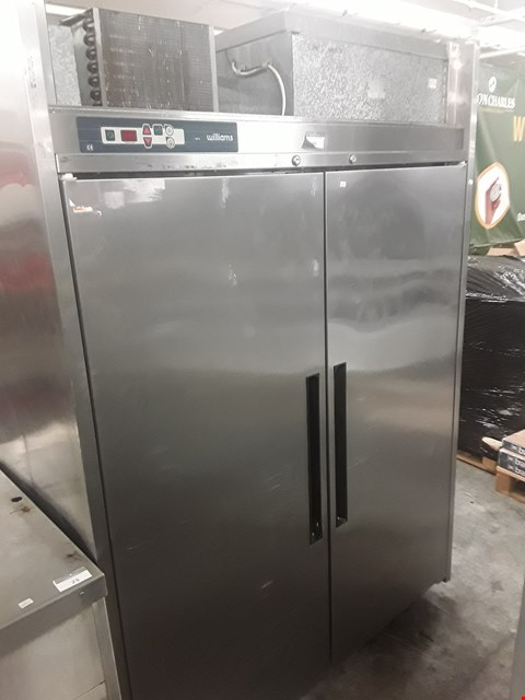 Lot 26 WILLIAMS DOUBLE DOOR TALL LARDER FRIDGE