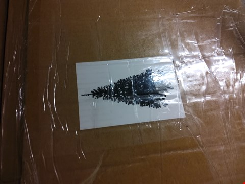 Lot 2455 7FT SNOW TIPPED CHRISTMAS TREE
